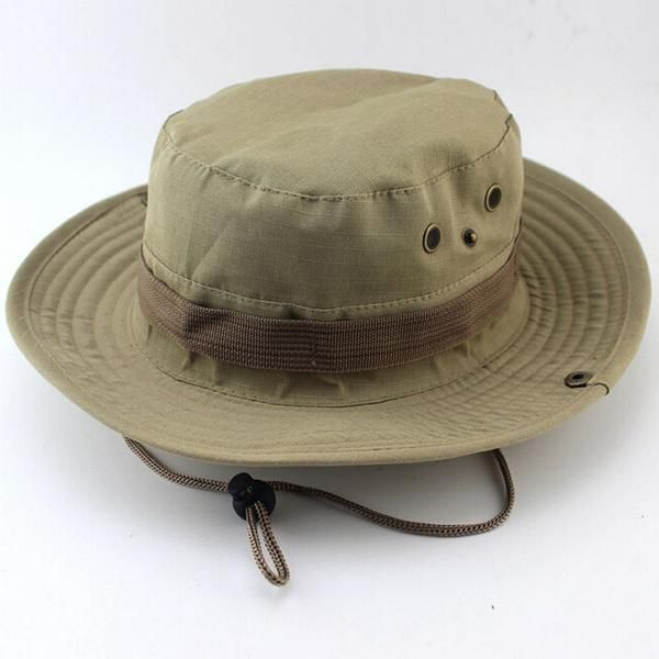 6f0d5bafb57 Top Selling Men Women Outdoor Climbing Hunting Fishing Camping Hats Sun  Protection Wide Brim Cap Unisex Summer Sun Hat - I want direct - 1