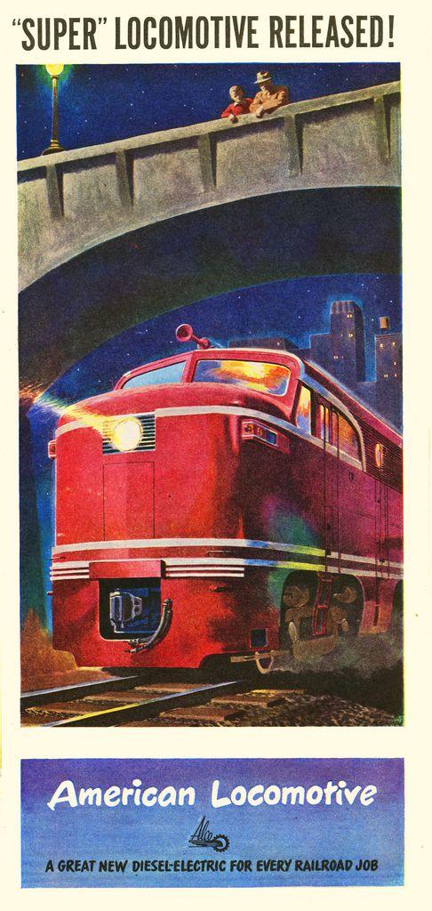 Great Southern /& Western Railway 325 Vintage Railway Art