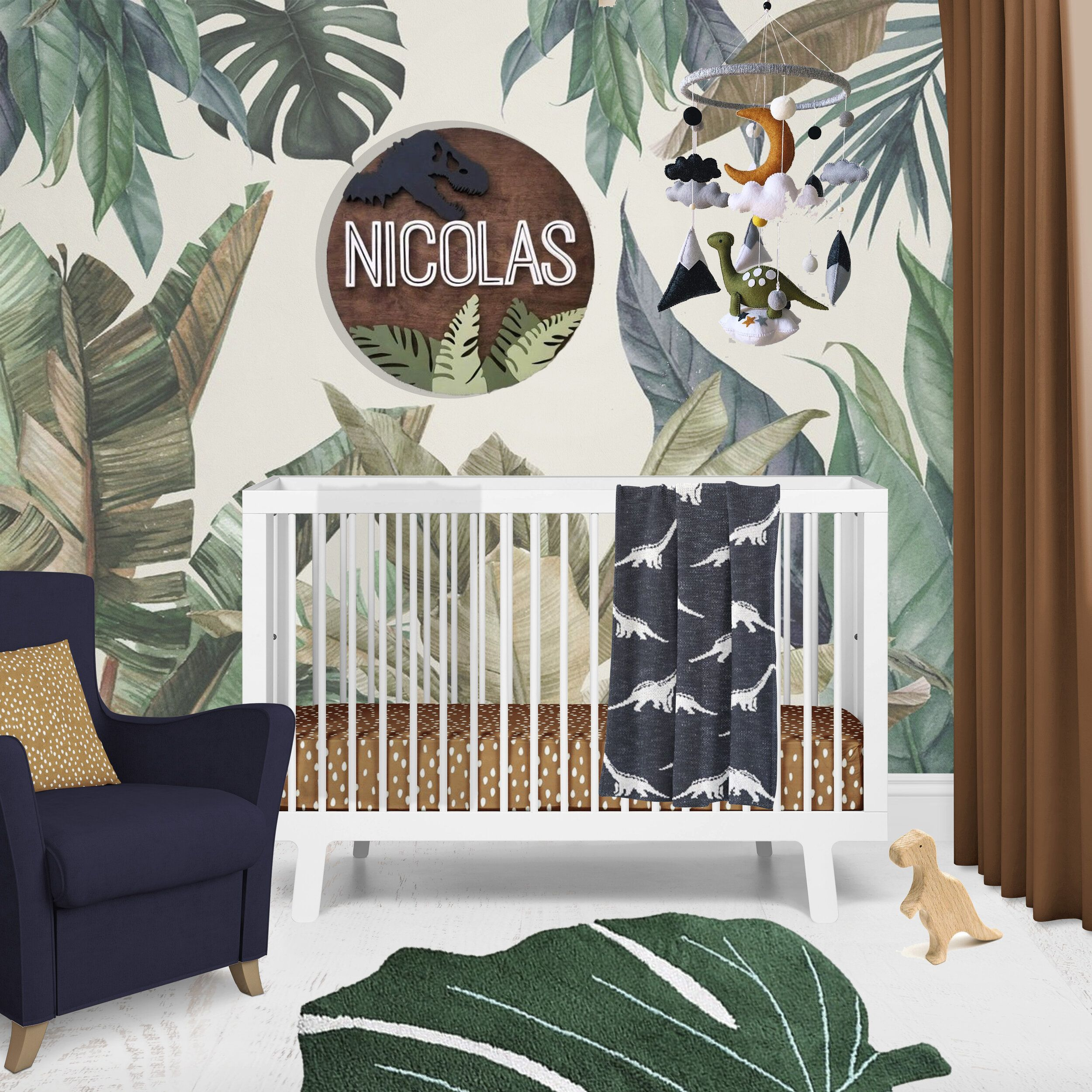 #Stand with Small ~ Creating a Dinosaur Themed Nursery! — Alphadorable | Custom nursery art and deco