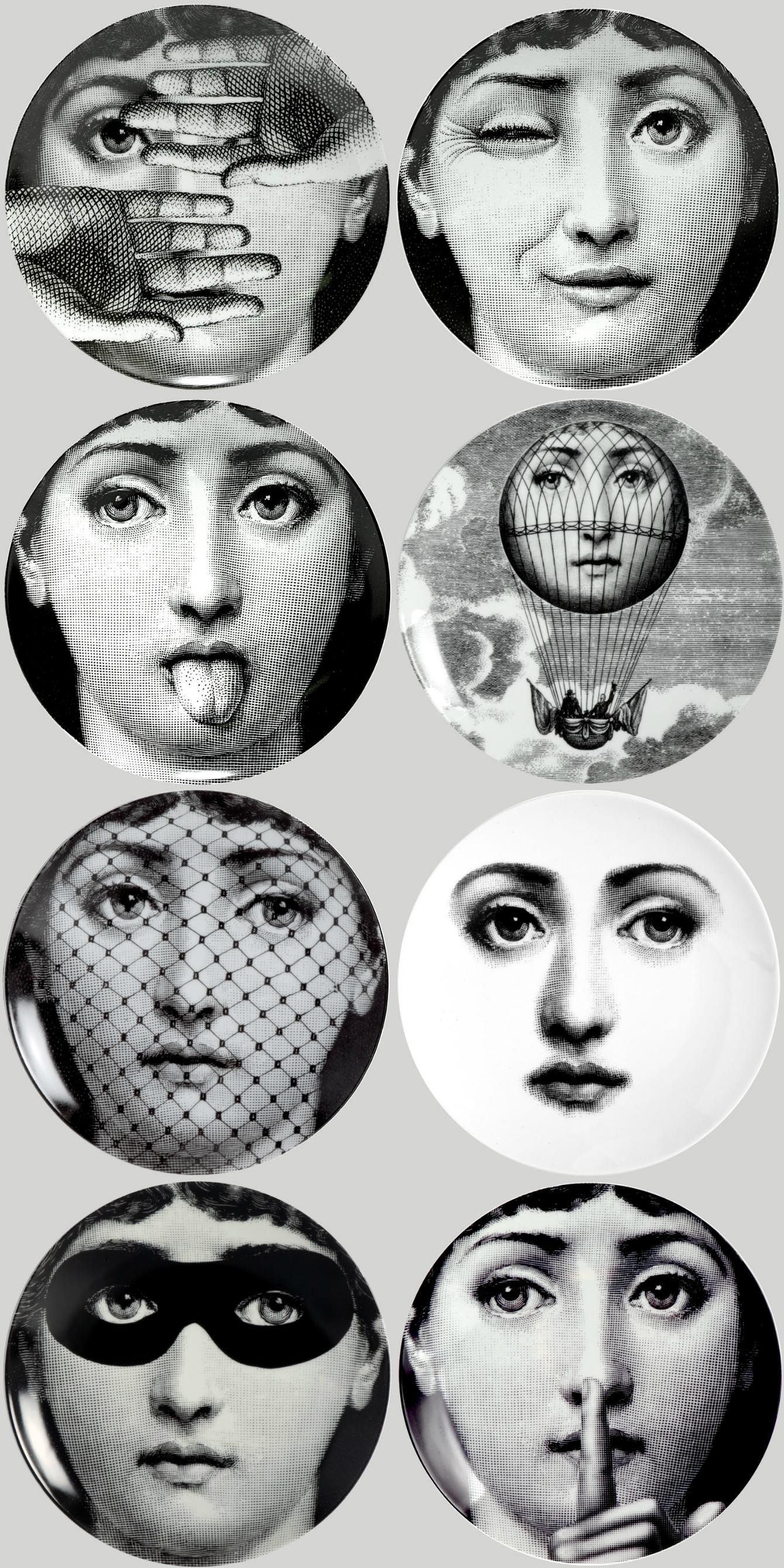 Fornasetti Face Wallpaper Piero Fornasetti Drawinggggg Pinterest Piero
