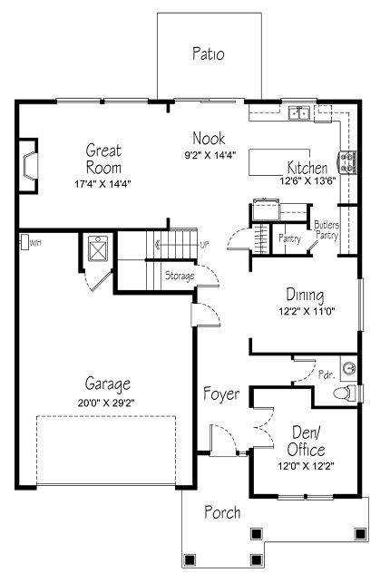 Bellevue New Home Plan In Hills At Round Lake New House Plans New Homes Butler Pantry