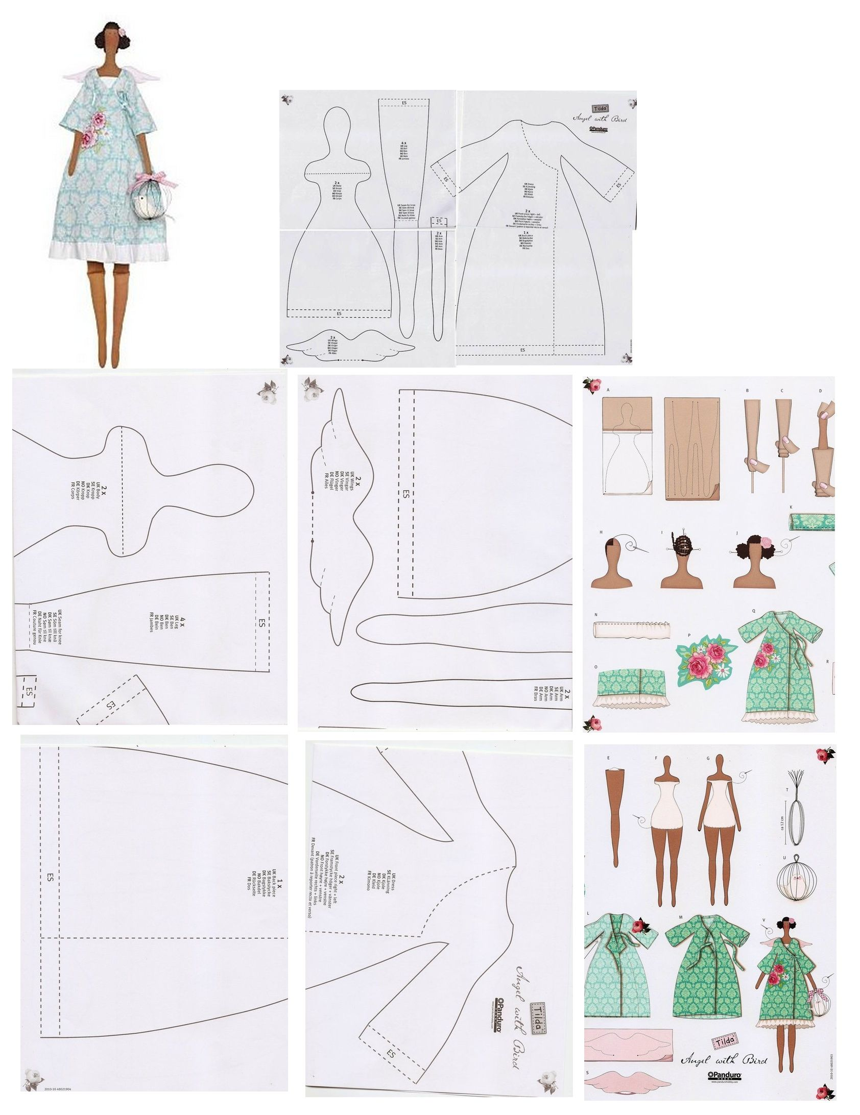 Pin by Nina Merle on dolls and toys | Pinterest | Dolls, Patterns ...