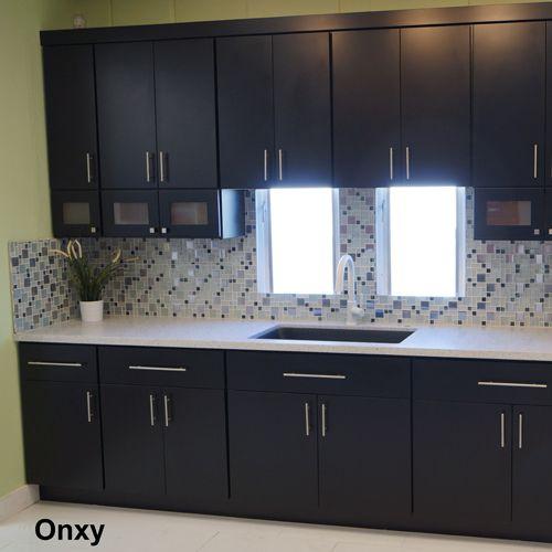 image result for black solid slab kitchen cabinet doors cabinets rh pinterest com