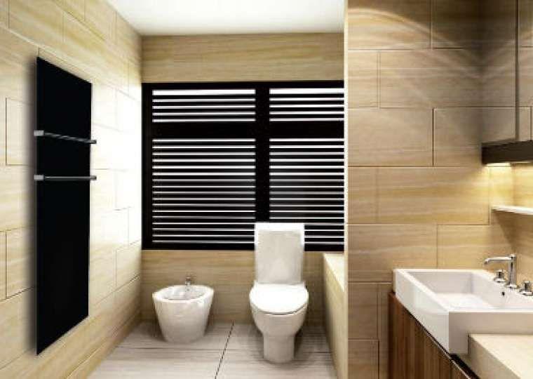 Badkamer verwarming : extra infrarood verwarmingspaneel/ kan ...