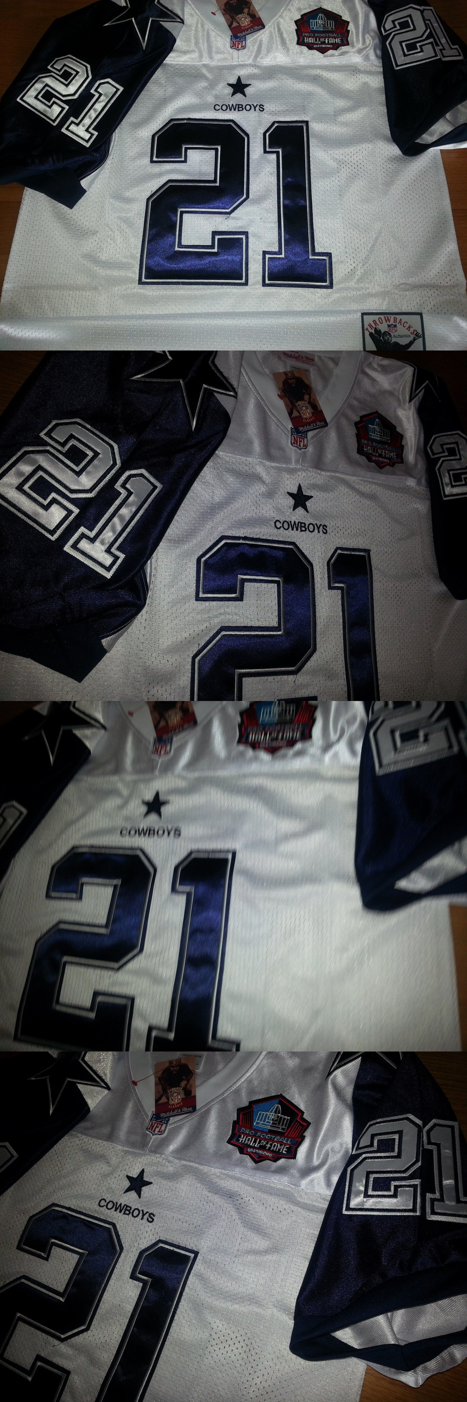 c6757c9646d ... Throwbacks Jersey Deion Sanders 21 Dallas Cowboys W Hofpatch Stitched  ...