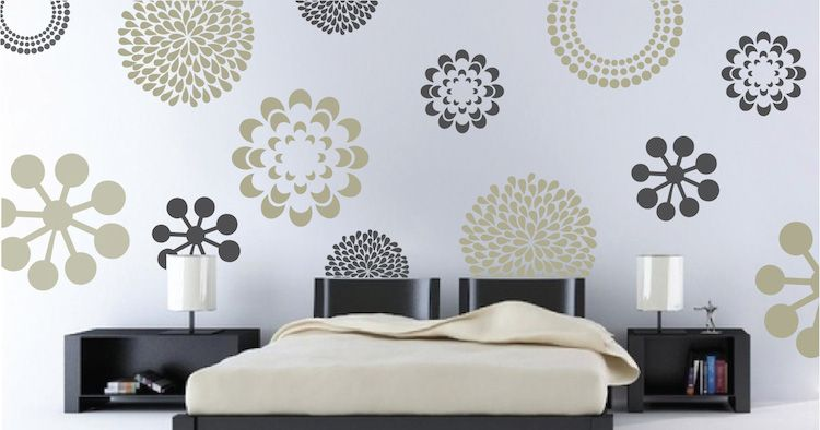 Prettifying Wall Decals - From Trendy Wall designs | Jewelry and ...