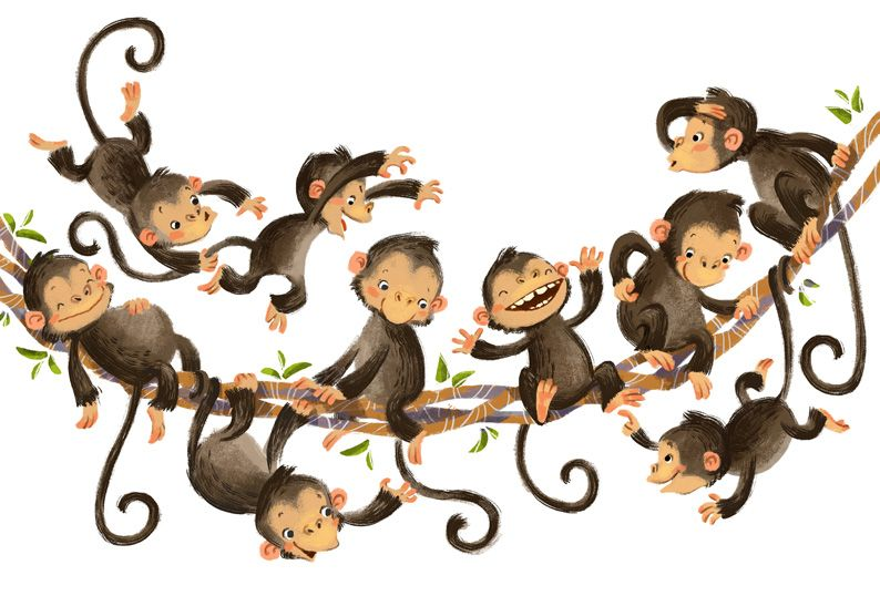 Monkey Magic By Anna Chernyshova Monkey Illustration Monkey Art