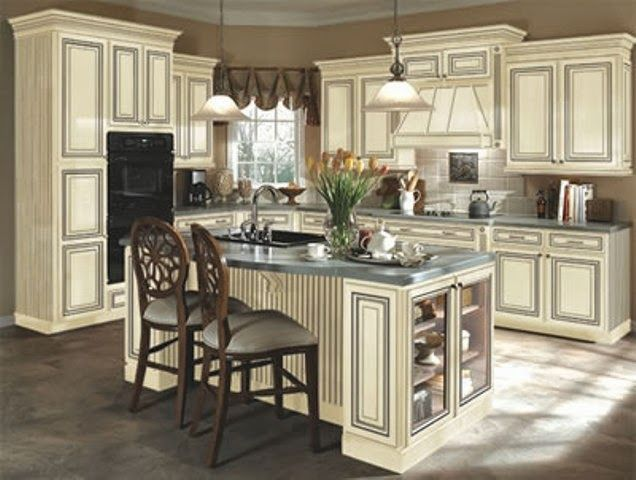 Antique Kitchen Cabinets What Color To Paint Kitchen With