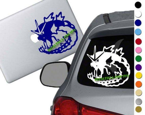 Decal Vinyl Truck Car Sticker Pokemon Go Gyrados