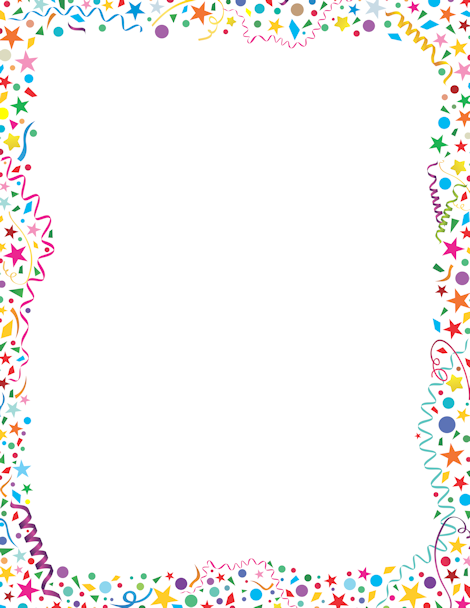 printable confetti border free gif  jpg  pdf  and png Cookie Monster Coloring Pages Cookie Monster Eating Cookies Vector