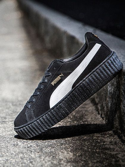 Rihanna Puma Schuhe Schwarz