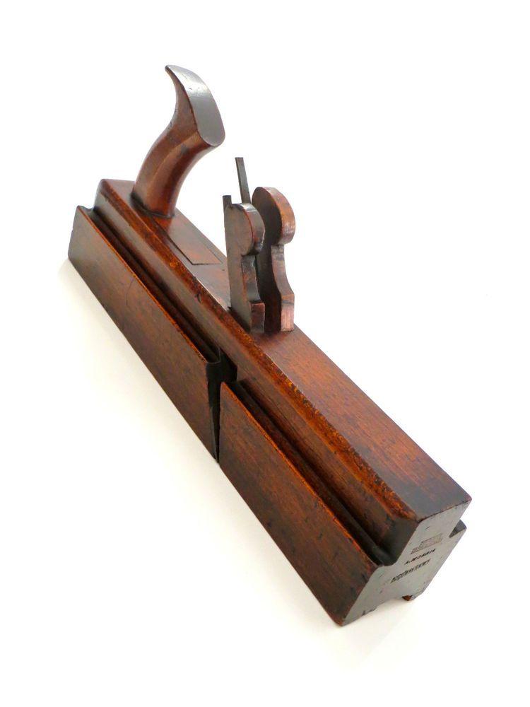 Rare Watsons Leeds Handled Twin Iron Stick And Rebate