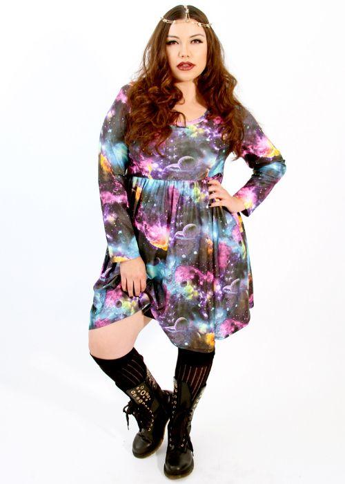 Plus galaxy dress – Woman best dresses