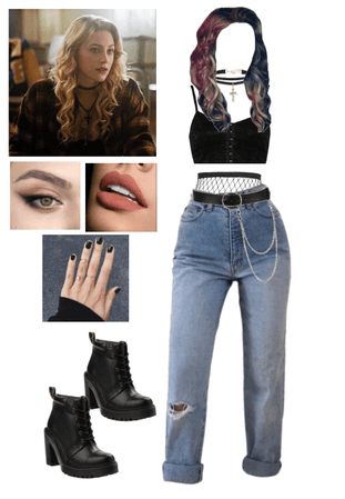young alice cooper outfit  shoplook  betty cooper
