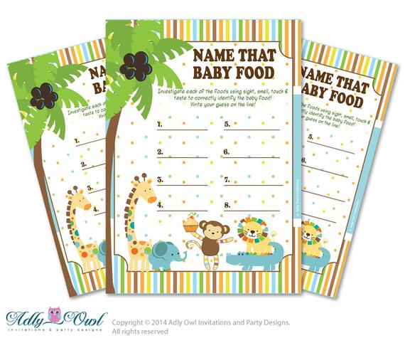 picture regarding Guess Who Game Printable called Boy Jungle Status That Food items, Little one Foods wager Match Printable
