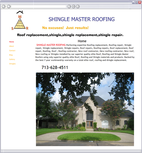 Roofing Shigles Flood