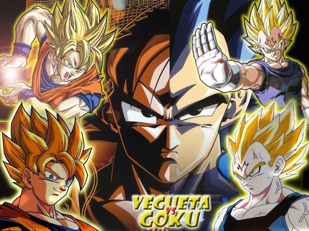 dragon ball z anime son goku and vegeta super seiya image picture
