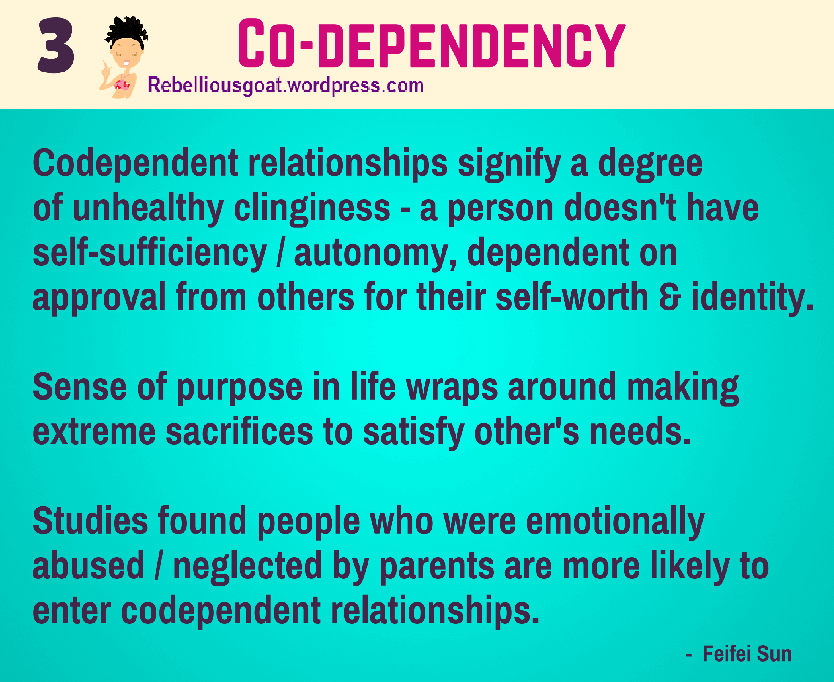 Dependent codependent relationship
