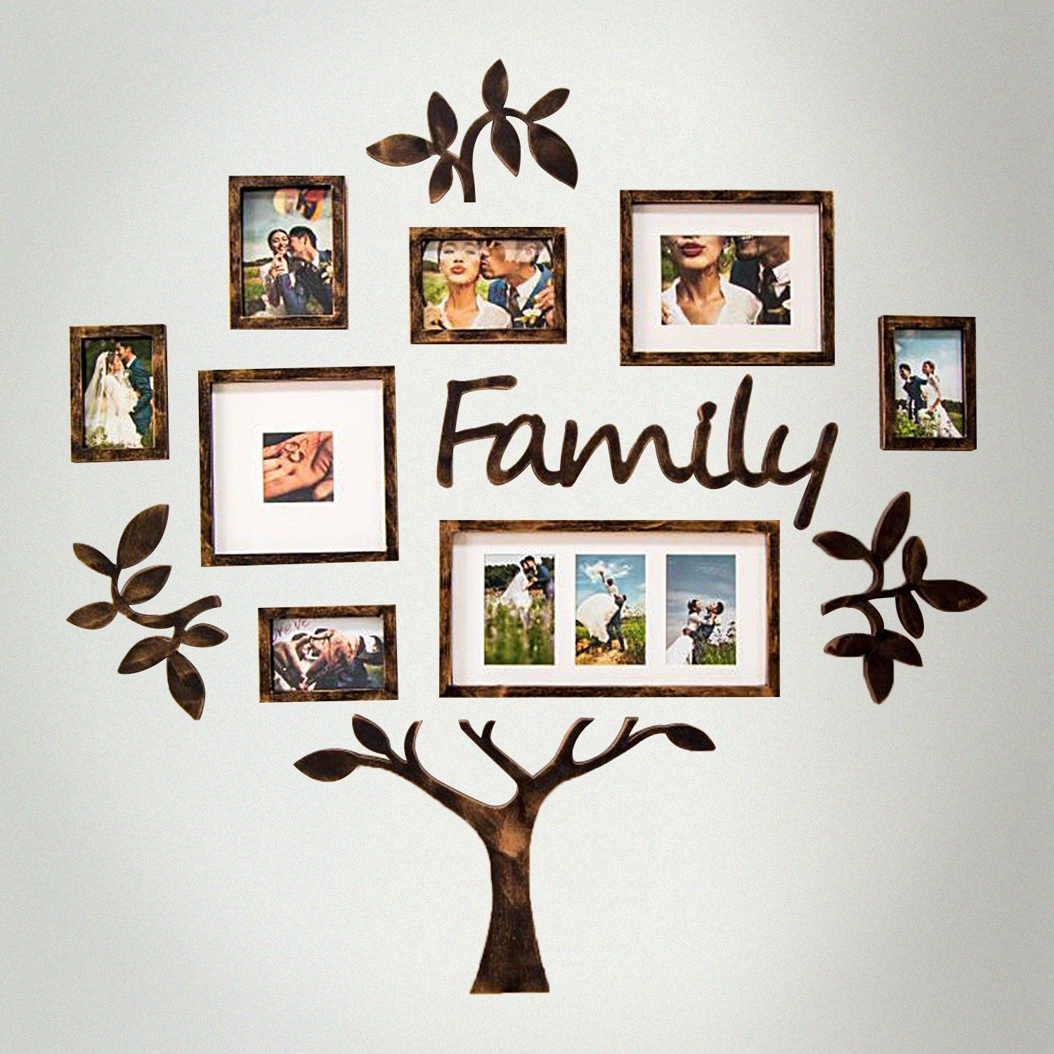 Family Tree Photo Frame Set College Frame Wall Decoration Combination Pvc Picture Frame Selfie Gallery Collage With Full Size Hanging Template Wall Mounti Family Tree Picture Frames Family