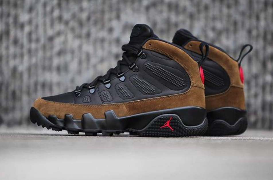 f1211835e2f3c1 Air Jordan 9 Boot NRG Olive Releasing In December