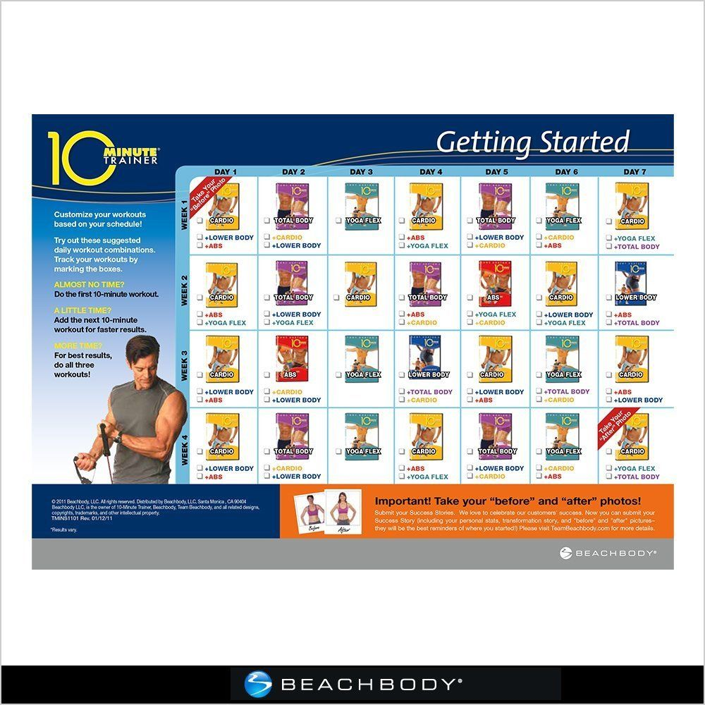 Amazon Com 10 Minute Trainer Dvd Workout Exercise And Fitness Video Recordings Sports Outdoors 10 Minute Trainer Fun Workouts 10 Minute Workout