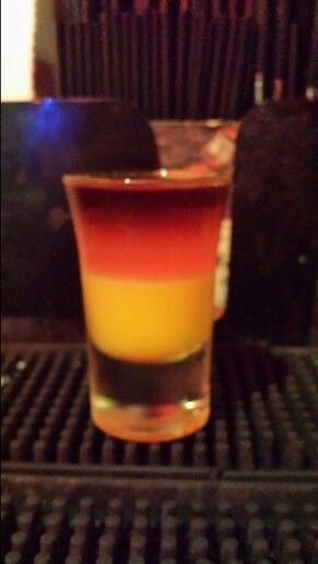 German flag shot #shoo...B 52 Shot Recipes