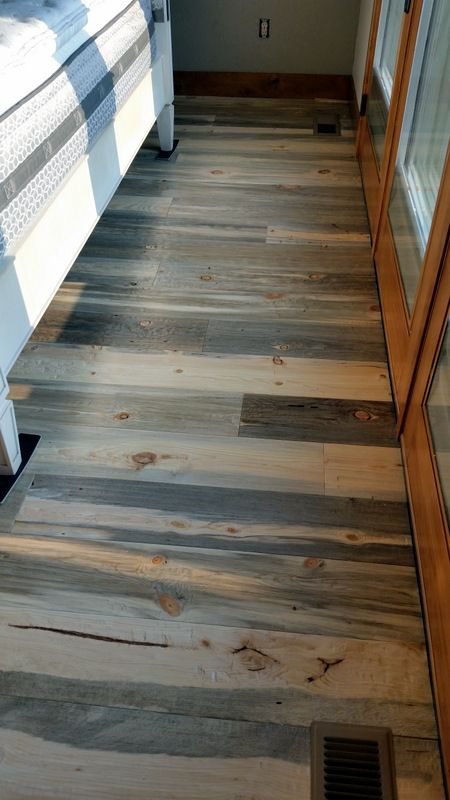 Hand Scraped Beetle Kill Pine Flooring From Sustainable Lumber Co