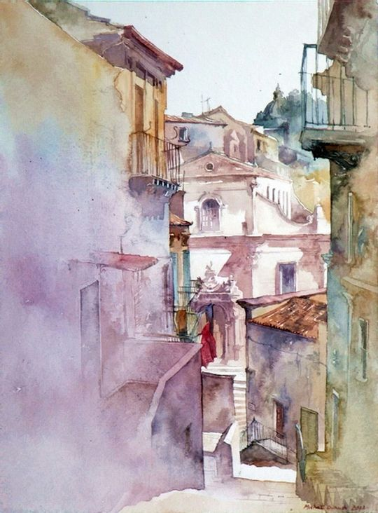 Michal Orlowski Watercolour Peintures A L Aquarelle Faciles