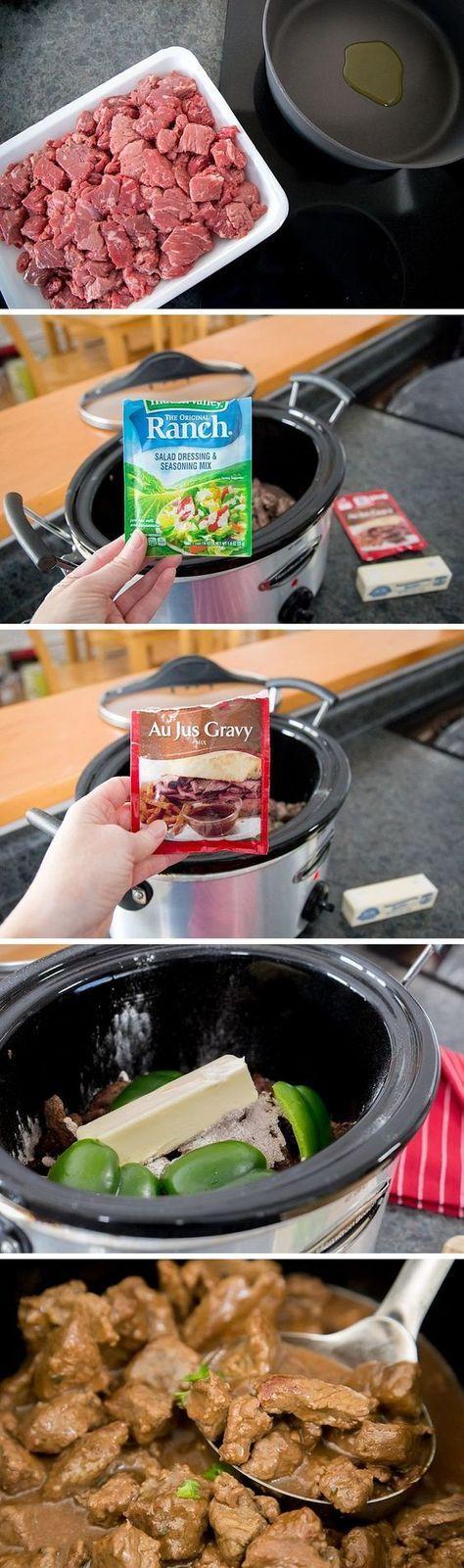 Best-Ever Slow-Cooker Beef Stew #crockpotmeals