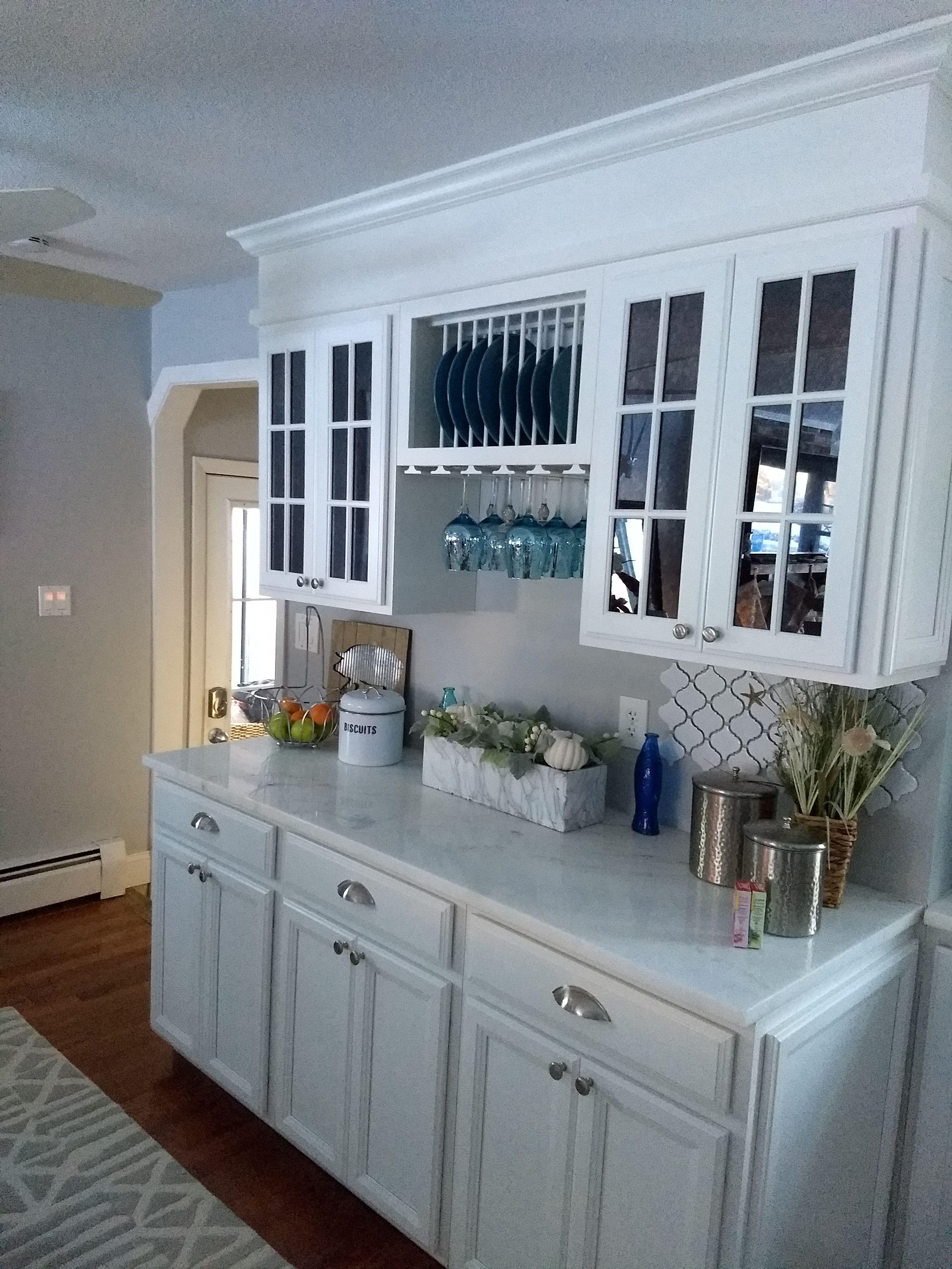 White on white - kitchen reno 1966 ranch! | Kitchen | Pinterest ...