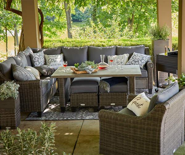 broyhill legacy thornwood 6 piece patio