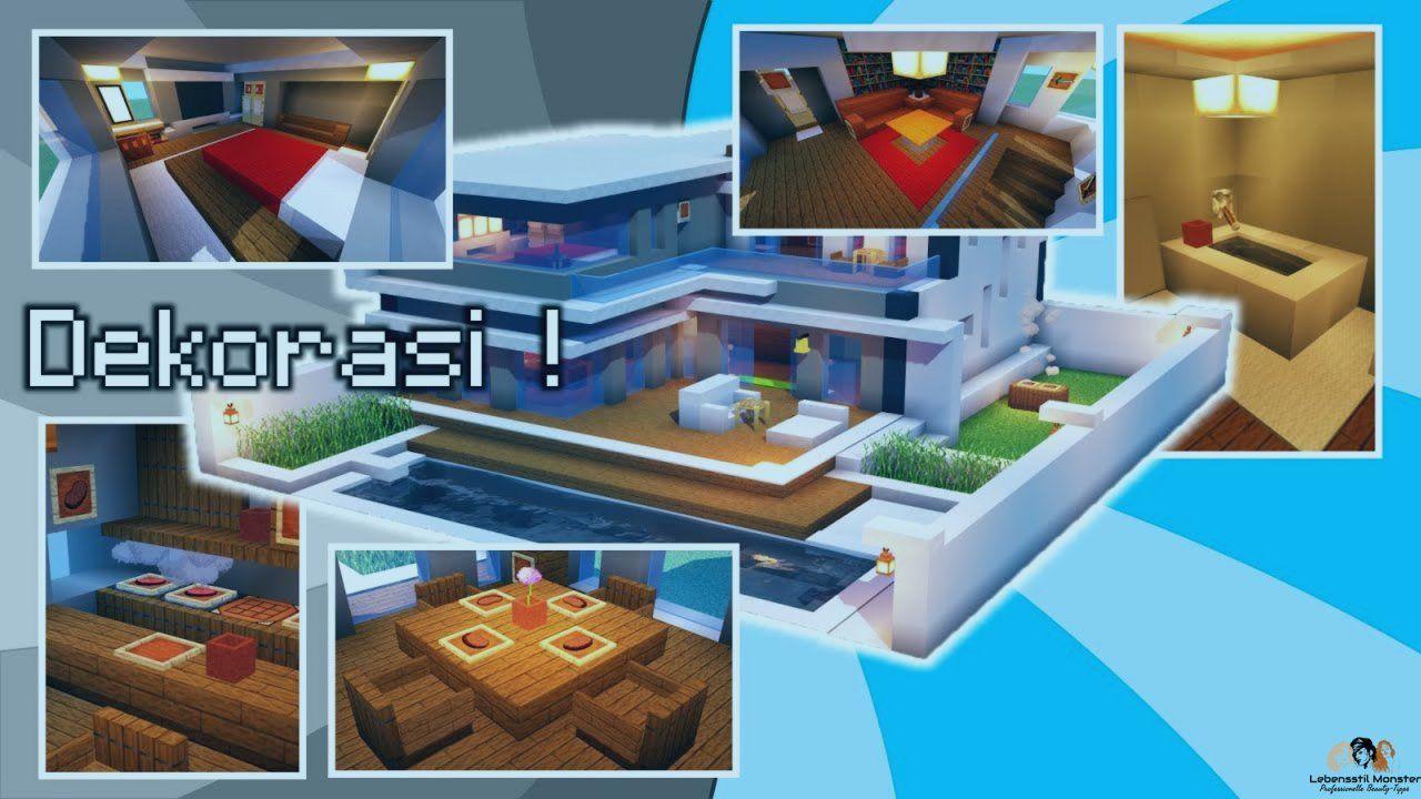 Cara Bikin Rumah Dari Minecraft Rumah Mewah Rumah Modern Rumah