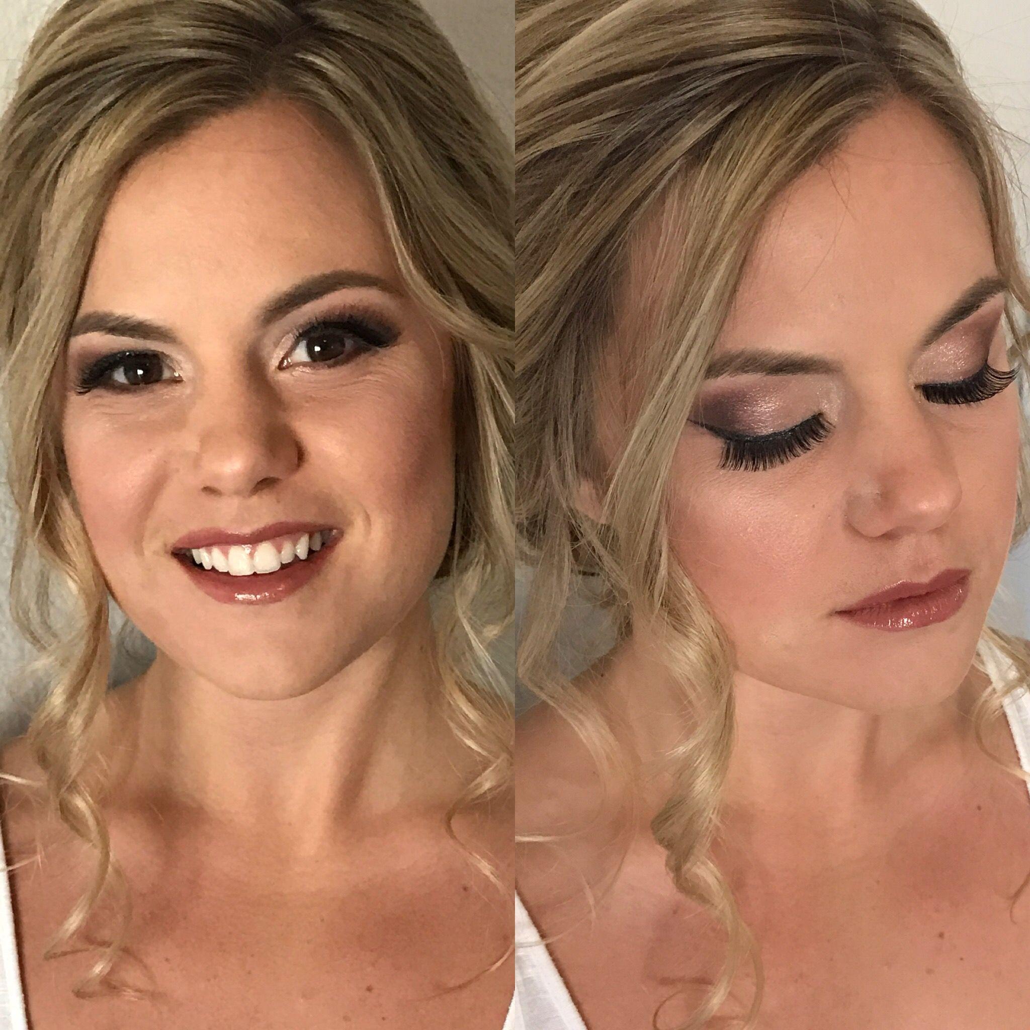 Bridal Elegant Bold Natural Airbrush Makeup
