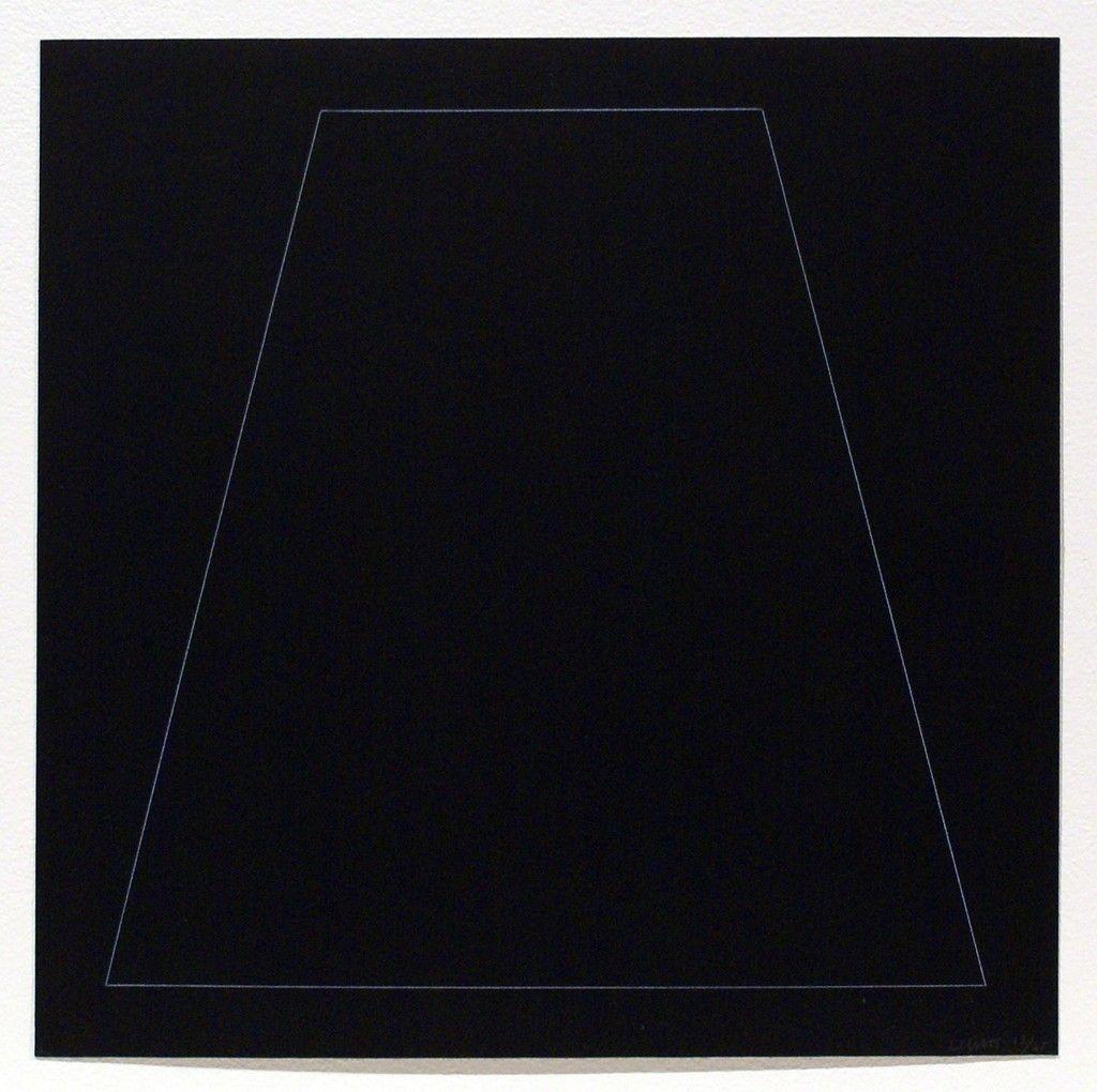 Six Geometric Figures - Trapezoid | Sol LeWitt, Six Geometric Figures - Trapezoid (1977)