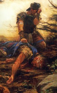 My Most Favorite Picture Of All Book Mormon Paintings I Have Seen Is This One Showing Moroni Mourning The Death His Father
