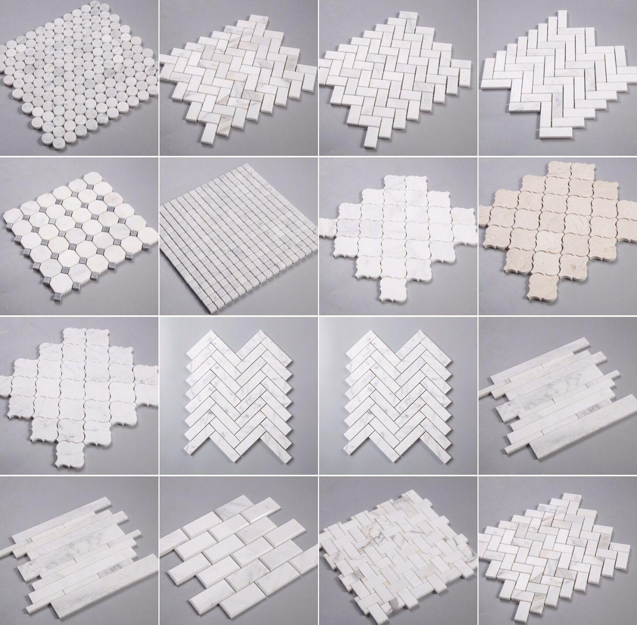 www.tile.bar Premium Italian marble mosaic tile sale | Marble ...
