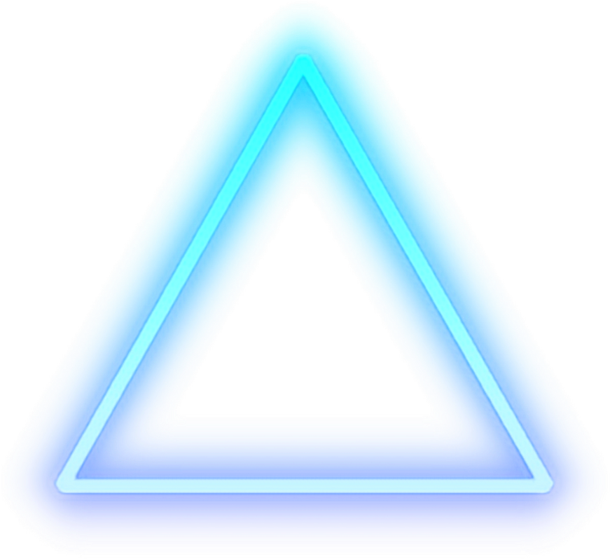 View And Download Hd Triangle Blue Glow Light Shape Cool Neon Png For Picsart Png Image For Free The Image Reso In 2020 Neon Png Picsart Png Neon Lights Photography