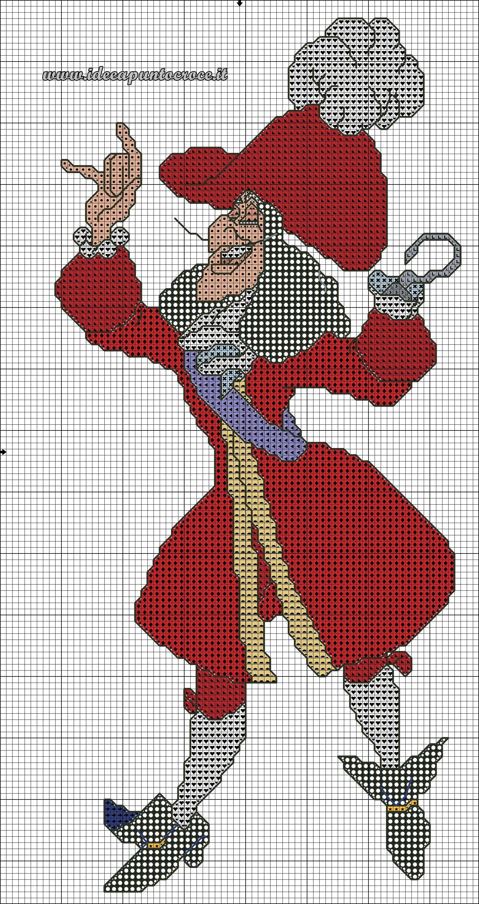 classic cross stitch схема