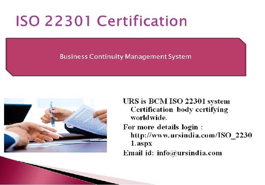 ISO 22301 Certification Helps in the Business continuity