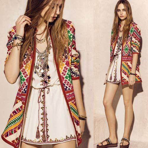 Colecciones de moda 2016 buscar con google boho - Moda boho chic ...