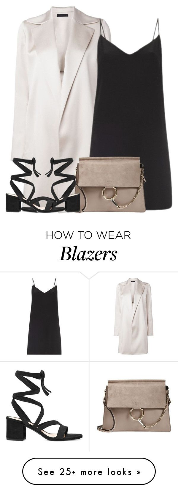 """Untitled #4247"" by maddie1128 on Polyvore featuring The Row, Raey, Chloé and Gianvito Rossi"
