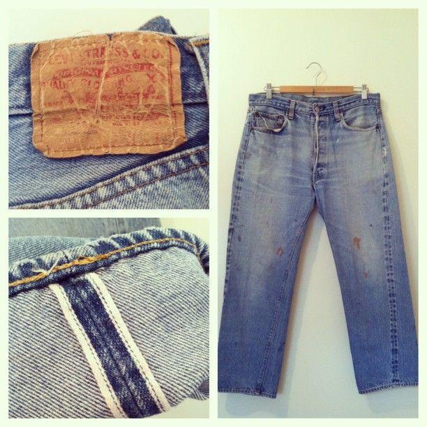 Formfollowsfunctionjournal Justin Found Some Nice Blueline Selvedge Levi S J Surplus Vintage Levis Selve Vintage Mens Fashion Menswear Vintage Denim