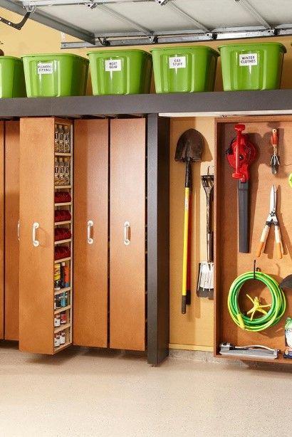 space saving sliding shelves garageorganization on cheap diy garage organization ideas to inspire you tips for clearing id=32828