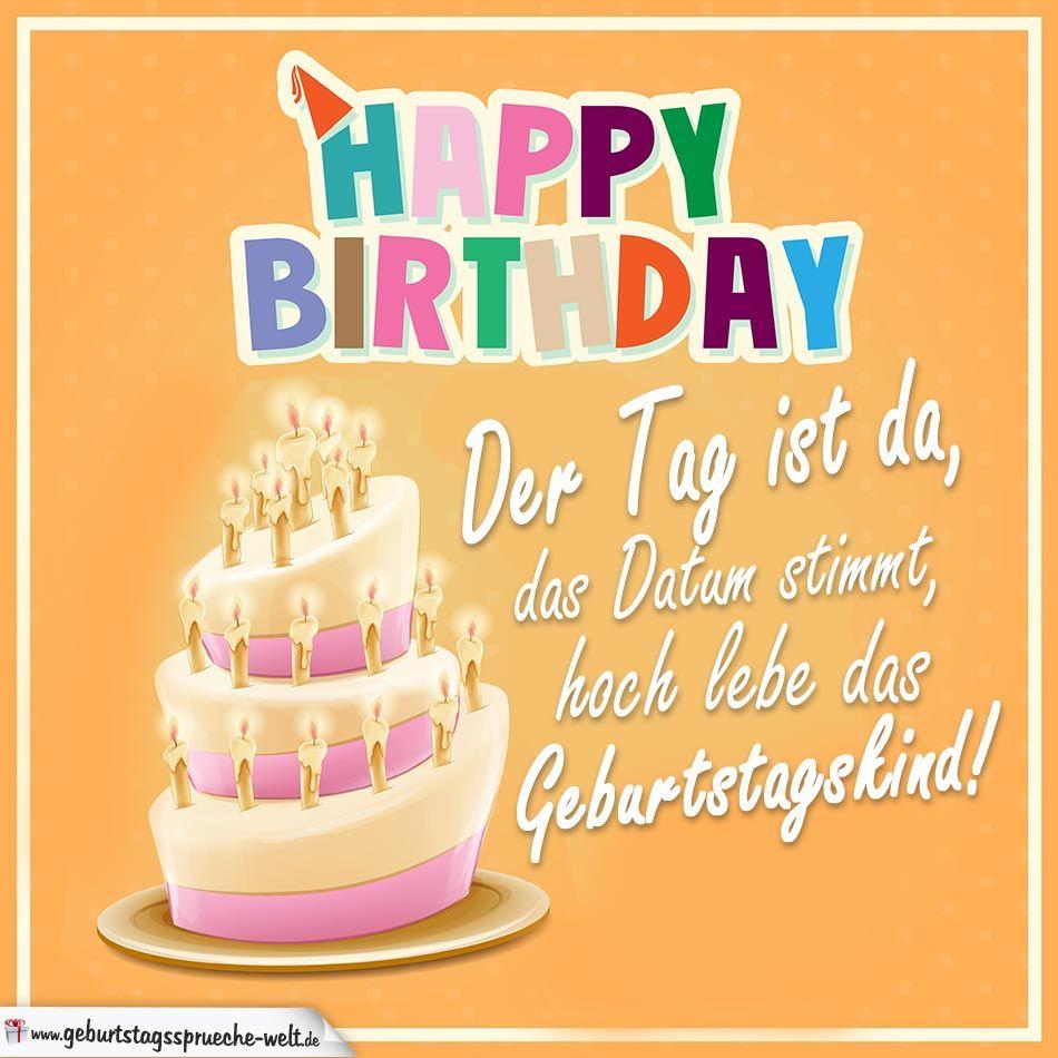 Happy Birthday - Hoch lebe das Geburtstagskind | Kurze