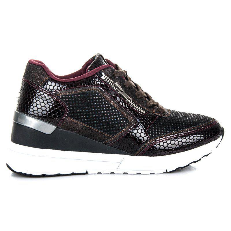 Sportowe Damskie Kylie Inne Buty Sportowe Na Koturnie Kylie Puma Fierce Sneaker Top Sneakers High Top Sneakers