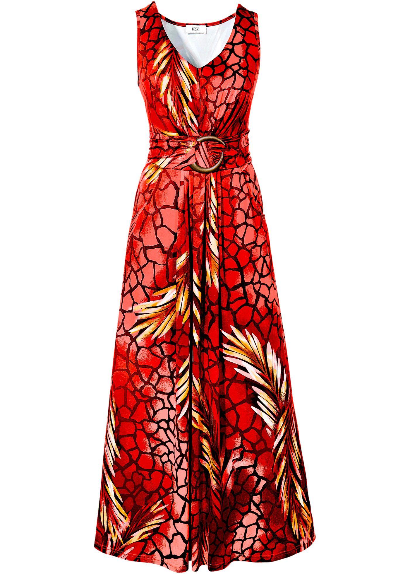 a96627d9f861 Shirtkleid, bpc selection, koralle bedruckt   Kleider für Hochzeit ...
