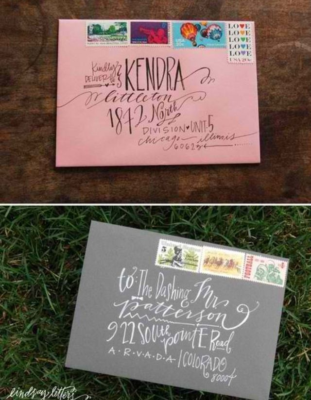 Hand Write Letters Hand Written Calligraphy And