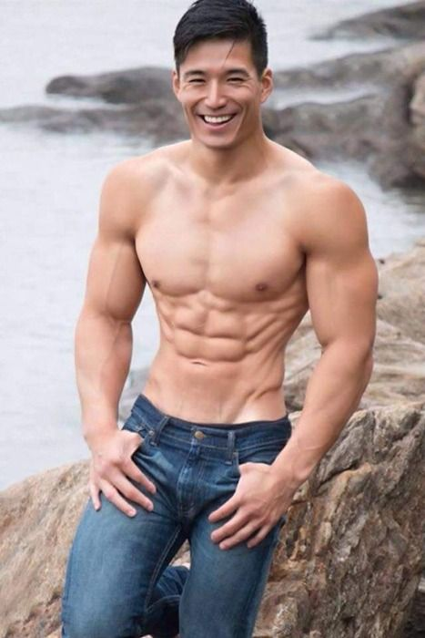 Hot men asian