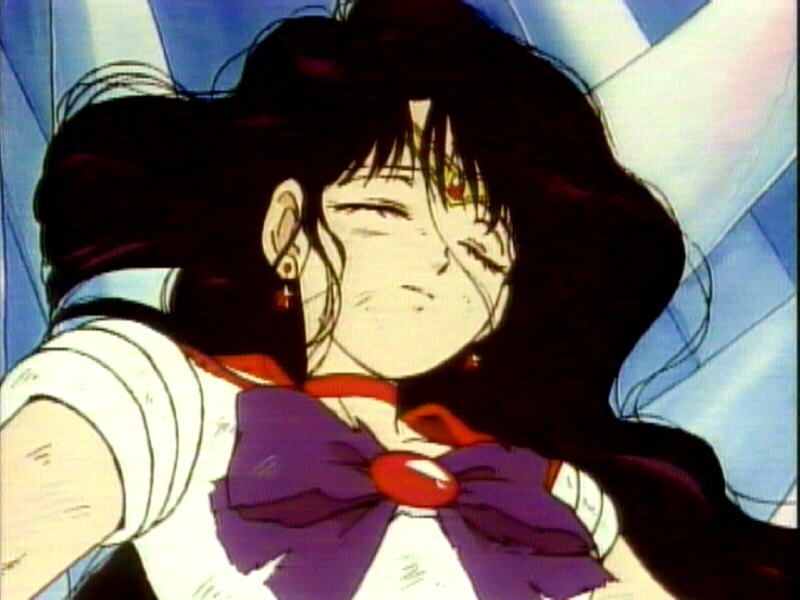 Image result for sailor mars death