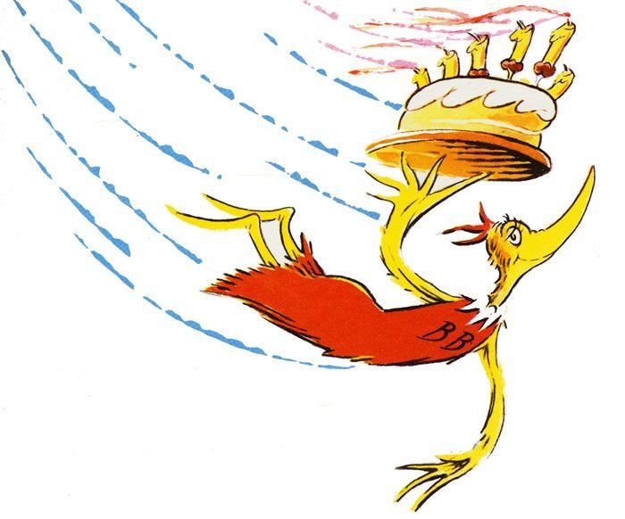 The Birthday Bird  The ojays Birthdays and Dr seuss